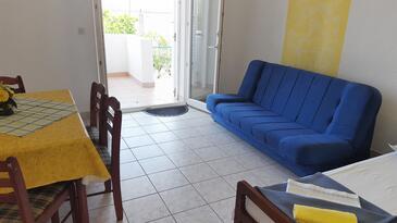 Gradac, Столовая в размещении типа apartment, доступный кондиционер и WiFi.
