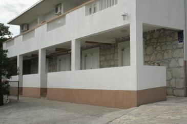 Gradac, Makarska, Obiekt 11332 - Apartamenty ze żwirową plażą.