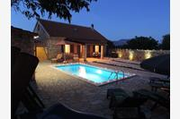 Family friendly house with a swimming pool Gluići (Krka) - 11337