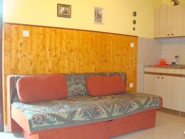 Jadrija, Dining room in the apartment, dopusteni kucni ljubimci i WIFI.
