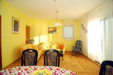 Stanići, Obývacia izba v ubytovacej jednotke apartment, WIFI.