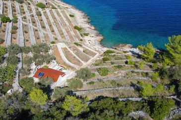 Stiniva, Korčula, Hébergement 11389 - Maison vacances à proximité de la mer.