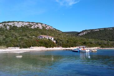 Kobiljak, Pašman, Property 11391 - Vacation Rentals near sea with rocky beach.