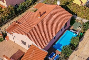 Fažana, Fažana, Hébergement 11396 - Maison vacances avec une plage de galets.