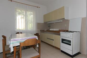 Pag, Kuchyňa v ubytovacej jednotke apartment, WIFI.