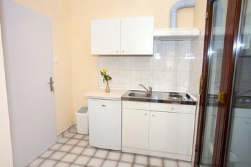 Makarska, Kuhinja v nastanitvi vrste studio-apartment, WiFi.
