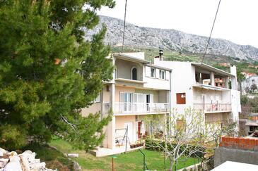 Stanići, Omiš, Property 11421 - Apartments with pebble beach.