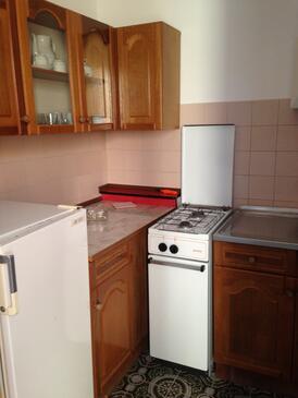 Rogoznica, Kitchen in the studio-apartment, WIFI.