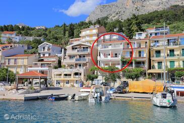 Podgora, Makarska, Property 11432 - Apartments near sea with pebble beach.