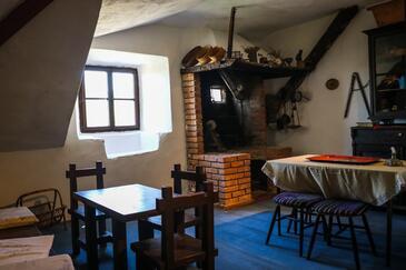 Bobovišća, Obývacia izba v ubytovacej jednotke house, dopusteni kucni ljubimci.