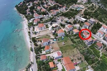 Orebić, Pelješac, Objekt 11450 - Ubytovanie blízko mora s kamienkovou plážou.