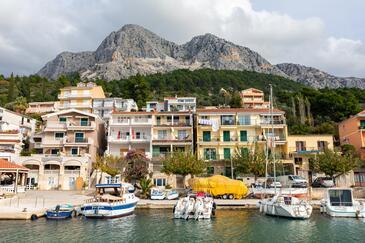 Podgora, Makarska, Property 11469 - Apartments near sea with pebble beach.