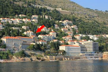 Dubrovnik, Dubrovnik, Property 11477 - Apartments with pebble beach.