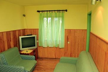 Veli Lošinj, Living room in the apartment, air condition available.