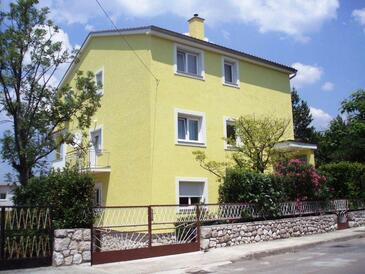 Selce, Crikvenica, Property 11527 - Apartments with pebble beach.