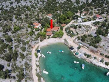 Sevid, Trogir, Property 11529 - Apartments near sea with pebble beach.