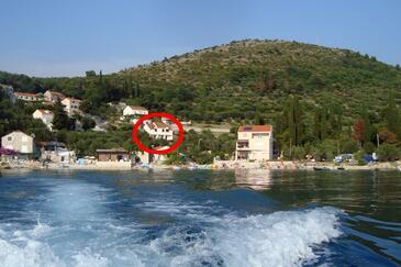 Slađenovići, Dubrovnik, Objekt 11531 - Ubytovanie blízko mora s kamienkovou plážou.