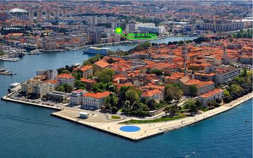 Zadar, Zadar, Property 11537 - Apartments with pebble beach.