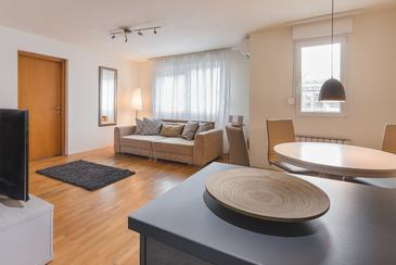 Zagreb One bedroom apartment with air-conditioning - A-11538-a ...