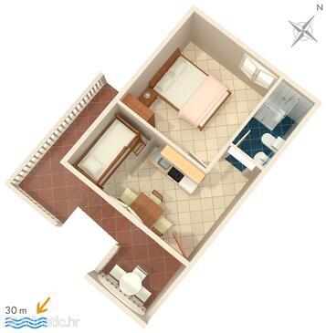 Rukavac, Plan in the apartment, WiFi.