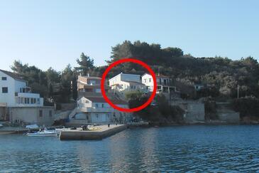 Savar, Dugi otok, Property 11540 - Apartments by the sea.