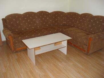 Vir, Living room in the apartment, dopusteni kucni ljubimci i WIFI.