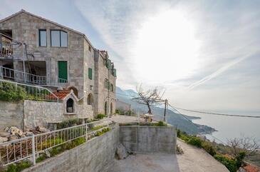 Brela, Makarska, Objekt 11552 - Ubytování s oblázkovou pláží.