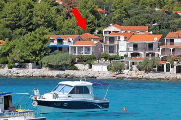 Prižba, Korčula, Property 11557 - Apartments near sea with pebble beach.