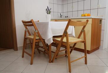 Seget Vranjica, Ebédlő szállásegység típusa apartment, WiFi .