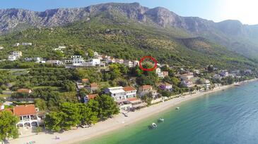Podaca, Makarska, Property 11570 - Rooms with pebble beach.