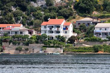Supetarska Draga - Gornja, Rab, Imobil 11579 - Apartamente și camere în apropierea mării cu plajă cu nisip.