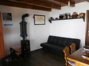 Donje More, Living room in the house, dopusteni kucni ljubimci i WIFI.