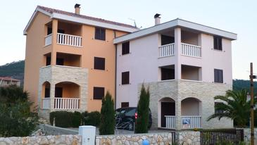 Stara Novalja, Pag, Property 11603 - Apartments with pebble beach.