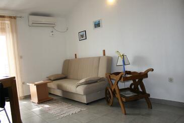 Okrug Gornji, Living room in the apartment, dopusteni kucni ljubimci i WIFI.