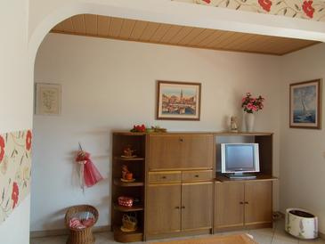 Umag, Living room in the apartment, dostupna klima.
