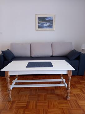 Zadar - Diklo, Гостиная в размещении типа apartment, WiFi.