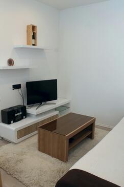 Lukoran, Obývací pokoj v ubytování typu apartment, WiFi.
