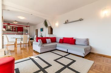 Kaštel Kambelovac, Living room in the apartment, WIFI.
