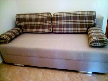 Starigrad, Obývací pokoj v ubytování typu apartment, WiFi.