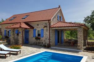 Family friendly house with a swimming pool Puljane, Krka - 11688