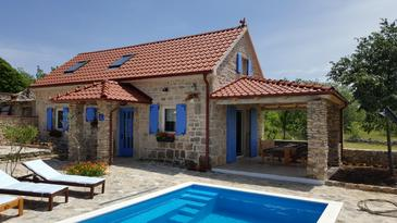 Puljane, Krka, Property 11688 - Vacation Rentals with pebble beach.