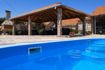 Gornje Planjane, Zagora, Объект 11701 - Дом для отдыха с галечным пляжем.