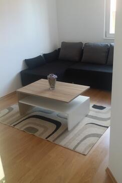 Sapina Doca, Living room in the apartment, dopusteni kucni ljubimci i WIFI.