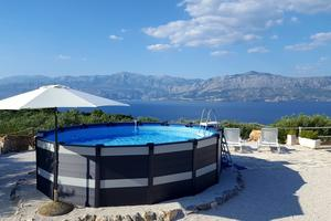 Secluded house with a swimming pool Postira (Brač) - 11742