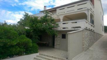 Kustići, Pag, Property 11757 - Apartments near sea with pebble beach.