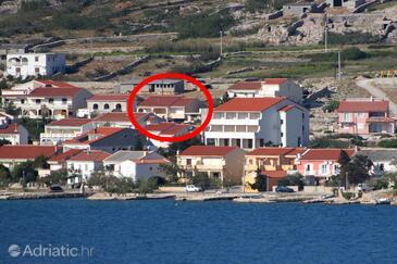 Kustići, Pag, Property 11763 - Apartments near sea with pebble beach.