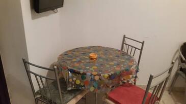 Poljica, Jedáleň v ubytovacej jednotke apartment, WIFI.