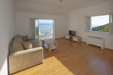 Zavode, Гостиная в размещении типа apartment, доступный кондиционер и WiFi.