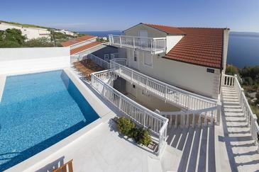 Zavode, Omiš, Property 11786 - Apartments with pebble beach.