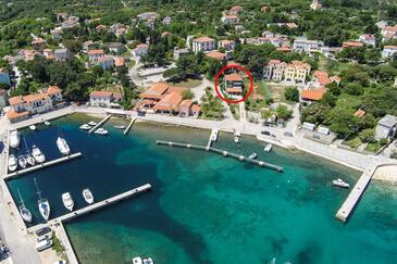 Nerezine, Lošinj, Objekt 11815 - Apartmani i sobe blizu mora.